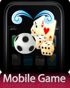 Kick A Ball Mobile Game